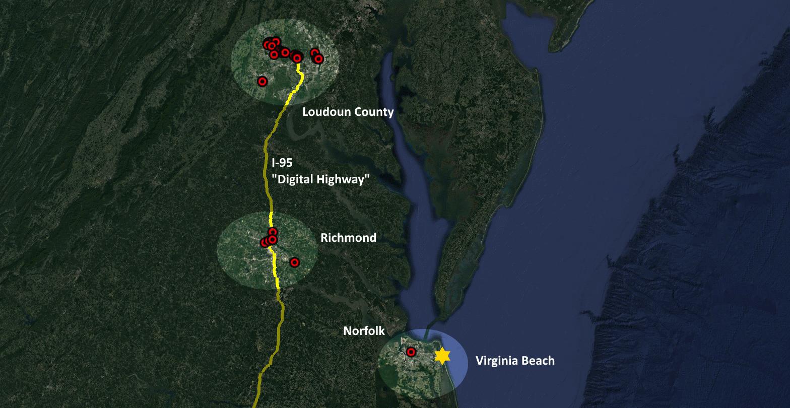 Virginia Beach Digital Highway I-95